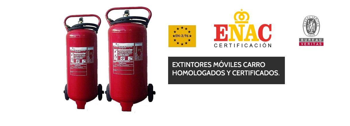 Extintores carro 50 kg
